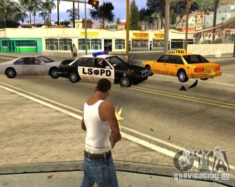 GTA 5 Effects для GTA San Andreas второй скриншот