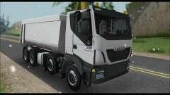 Iveco Trakker 2014 Tipper Snow для GTA San Andreas