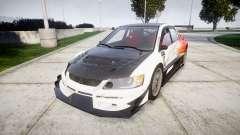 Mitsubishi Lancer Evolution IX HQ для GTA 4