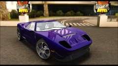 Vapid Bullet Gt (GTA IV TBoGT) (IVF) для GTA San Andreas