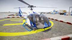 Eurocopter EC130 B4 TRANS TV для GTA 4