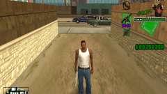 C-HUD Grove St. для GTA San Andreas