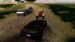 Новые маршруты транспорта для GTA San Andreas