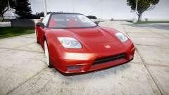 Honda NSX-R для GTA 4