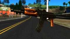 Светлый АКС-74У v2 для GTA San Andreas