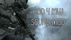 COD MW Sound Mod для GTA San Andreas