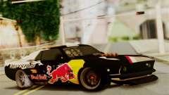 Ford Mustang RTR RedBull для GTA San Andreas