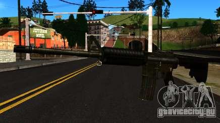 M4 from GTA 4 для GTA San Andreas