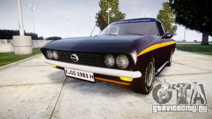 Opel Manta A Black Magic для GTA 4