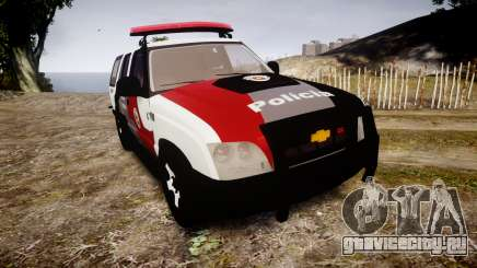 Chevrolet Blazer 2010 Tactical Force [ELS] для GTA 4