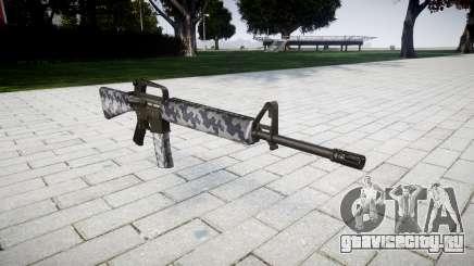 Винтовка M16A2 siberia для GTA 4