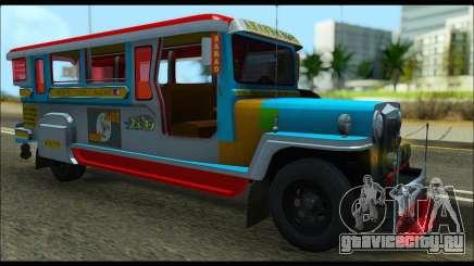 Jeepney Legacy (Boxville) для GTA San Andreas