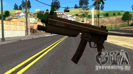 MP5 from GTA 4 для GTA San Andreas