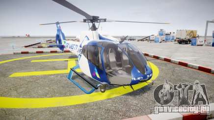Eurocopter EC130 B4 TRANS TV для GTA 4