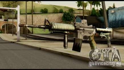 SOPMOD from Metal Gear Solid v3 для GTA San Andreas