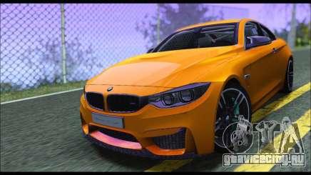 BMW M4 F80 Coupe 1.0 2014 для GTA San Andreas