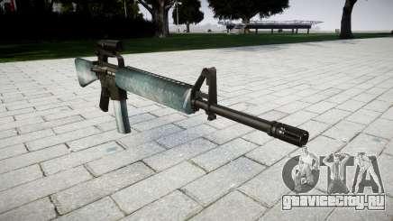Винтовка M16A2 [optical] icy для GTA 4
