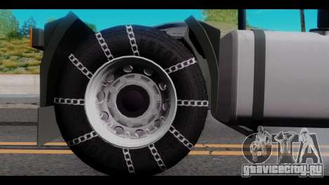 Iveco Eurotech для GTA San Andreas вид справа