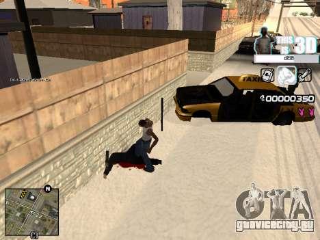 C-HUD 3D для GTA San Andreas второй скриншот