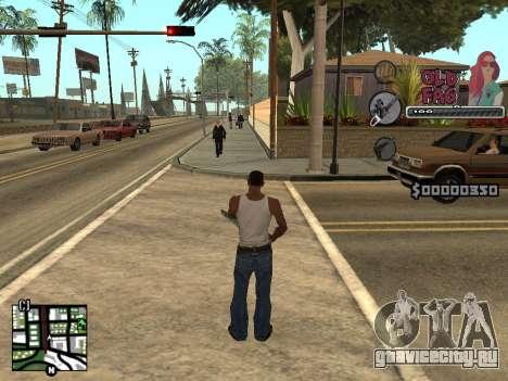 C-HUD Universal v2 для GTA San Andreas второй скриншот