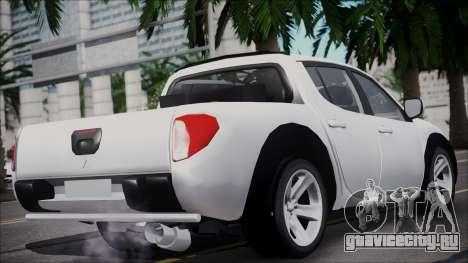 Mitsubishi Triton для GTA San Andreas вид слева