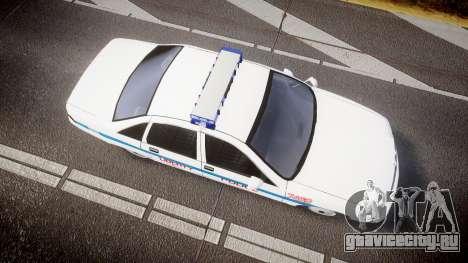 Chevrolet Caprice Liberty Police [ELS] для GTA 4 вид справа