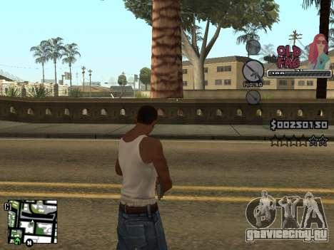 C-HUD Universal v2 для GTA San Andreas пятый скриншот