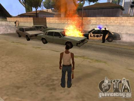 New Realistic Effects 4.0 Full Final Version для GTA San Andreas второй скриншот