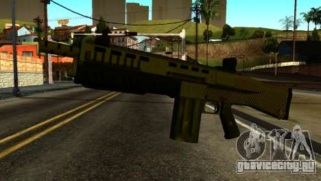 Bullpup Shotgun from GTA 5 для GTA San Andreas
