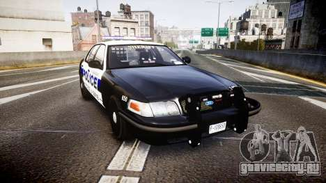 Ford Crown Victoria Police Algonquin [ELS] для GTA 4