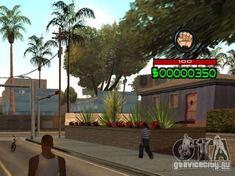 C-HUD by Radion для GTA San Andreas второй скриншот