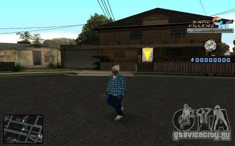 C-HUD SWAG Killerz для GTA San Andreas третий скриншот