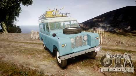 Land Rover Series II 1960 v2.0 для GTA 4