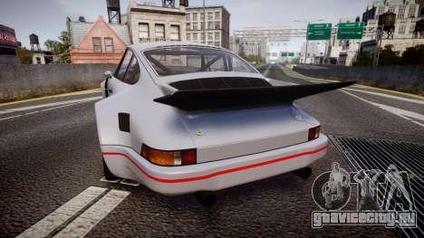 Porsche 911 Carrera RSR 3.0 1974 для GTA 4 вид сзади слева