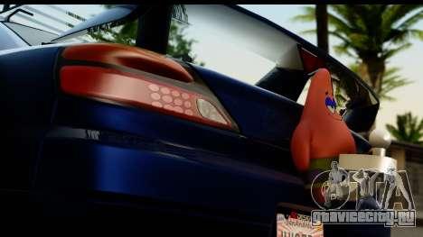 Nissan Silvia S15 Camber Edition для GTA San Andreas вид сзади