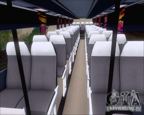 Nissan Diesel UD Peoples Transport Corporation для GTA San Andreas вид сбоку