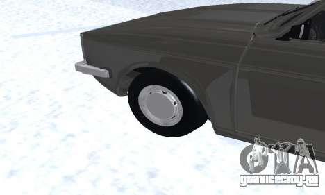 Ikco Peykan Chragh Benzi New для GTA San Andreas вид снизу