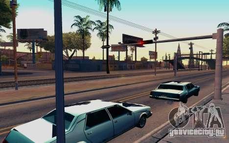 ENB by Dvi v 1.0 для GTA San Andreas второй скриншот