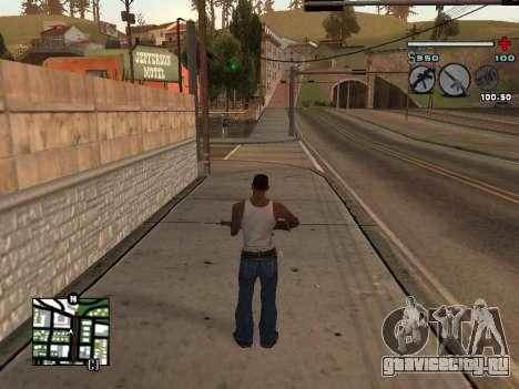 C-HUD Universal v3 для GTA San Andreas
