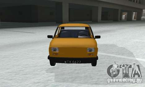Fiat 126p FL для GTA San Andreas вид справа