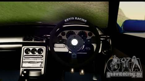 Nissan Skyline R32 Targa для GTA San Andreas вид сзади