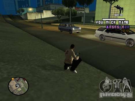 C-HUD by SantiManti для GTA San Andreas второй скриншот