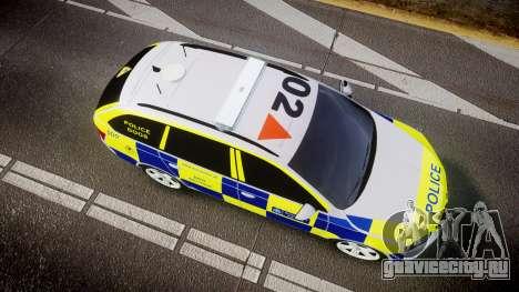 Skoda Octavia Combi vRS 2014 [ELS] Dog Unit для GTA 4
