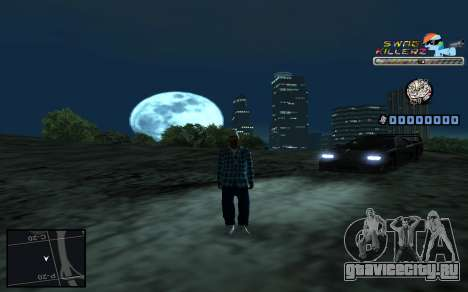 C-HUD SWAG Killerz для GTA San Andreas шестой скриншот