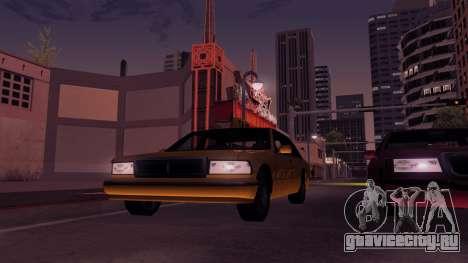 ENB Echo для GTA San Andreas пятый скриншот