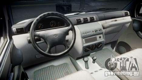 УАЗ 2360 6x6 для GTA 4 вид сзади