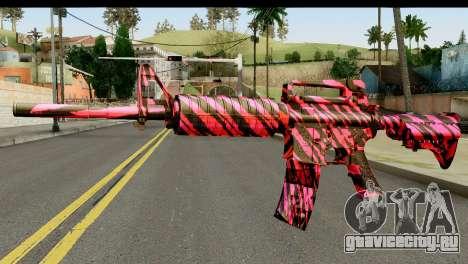 Red Tiger M4 для GTA San Andreas