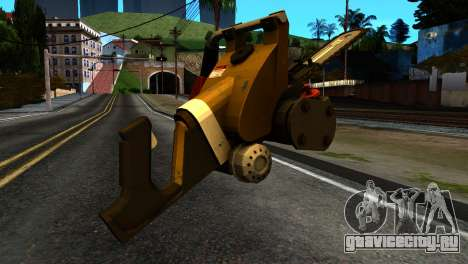 New Chainsaw для GTA San Andreas второй скриншот