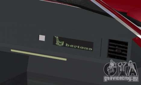 Fiat Bertone X1 9 для GTA San Andreas колёса