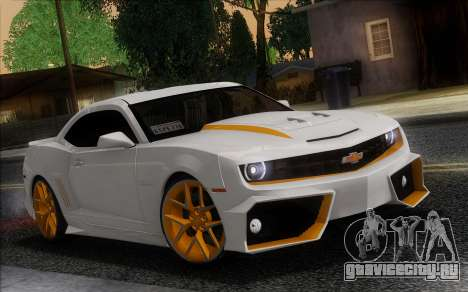 Chevrolet Camaro VR (IVF) для GTA San Andreas вид справа